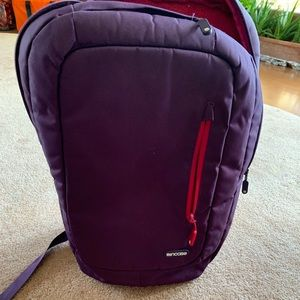 Purple back pack